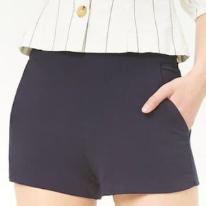 Pants - New navy stretch tailored shorts